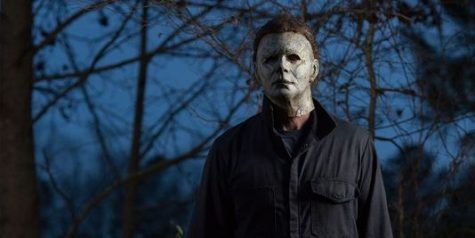 "Photo from the  new ""Halloween"" movie"