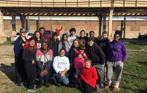 "Service Club collaborates with ""All God's People"""
