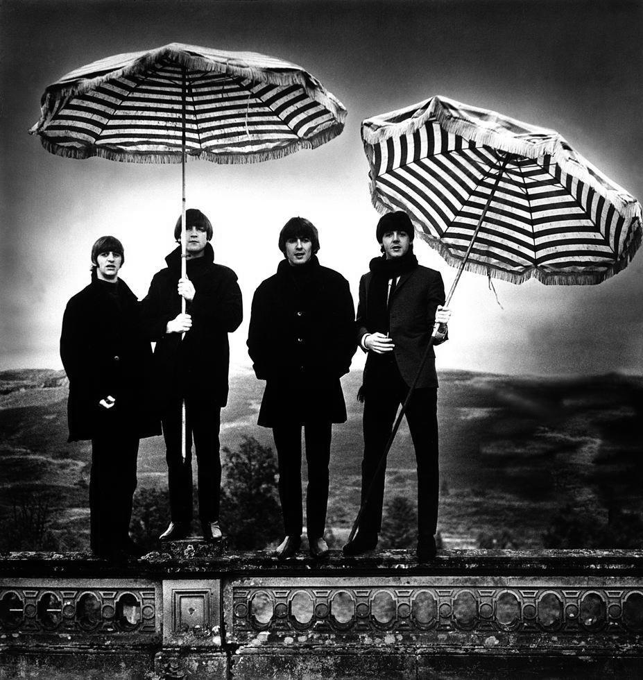 The Beatles, Perthshire, Scotland 1964 by Robert Whitaker