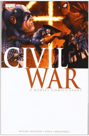 "Comic cover of ""Civil War"", 2006."