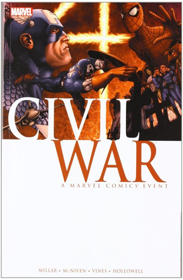 Comic+cover+of+%22Civil+War%22%2C+2006.%0A